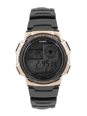 CASIO Youth Series Men Black Digital Watch D122