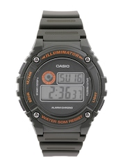 CASIO Youth Series Men Green Digital Watch I100