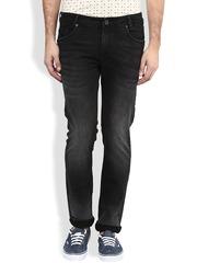 Mufti Black Super Slim Jeans