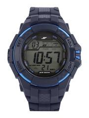 Sonata Ocean Series Men Blue Digital Watch 77055PP01