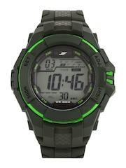 Sonata Ocean Series Men Grey Digital Watch 77055PP03