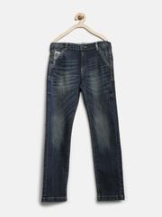 U.S. Polo Assn. Kids Boys Navy Regular Fit Jeans