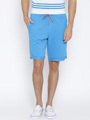 Undercolors of Benetton Men Blue Solid Regular Fit Shorts