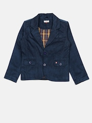 U.S. Polo Assn. Kids Boys Blue Corduroy Jacket
