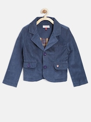 U.S.Polo Assn. Kids Boys Navy Corduroy Jacket