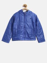 612 league Boys Blue Hooded Jacket