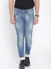 Ed Hardy Blue Skuller Fit Jeans