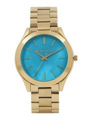 Michael Kors Women Metallic Blue Dial Watch MK3492I