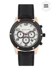 Michael Kors Men White Chronograph Dial Watch MK8489I