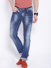 SPYKAR Men Blue Skinny Fit Low-Rise Jeans
