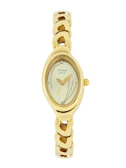 Titan Raga Women Gold-Toned Dial Watch NH2435YM02