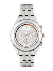 Titan Octane Men Steel-Toned Dial Watch NF9324SM01MA