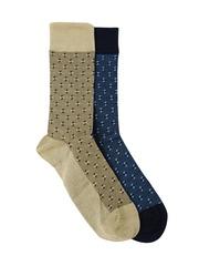 INVICTUS Men Set of 2 Above Ankle-Length Socks