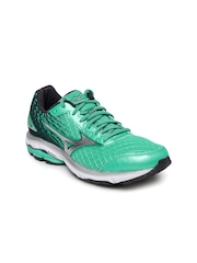 Mizuno Women Green Running Shoes