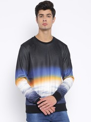 PUMA Black Printed Sweatshirt
