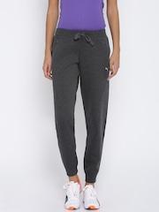 PUMA Charcoal Grey DryCELL Yogini Track Pants