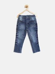 Gini and Jony Boys Blue Mid-Rise Jeans