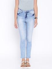 Elle Women Blue High-Rise Jeans