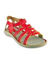 Beanz Girls Red Flats