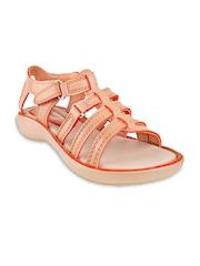 Beanz Girls Peach-Coloured Flats