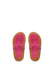 Beanz Girls Pink Suede Flats