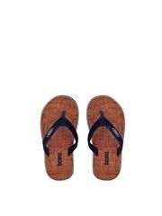 Beanz Boys Navy Flip-Flops