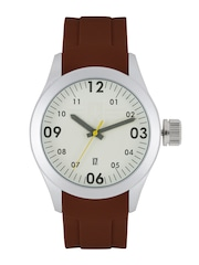Roadster Men Cream-Coloured Analogue Watch MFB-PN-WTH-S5849-02