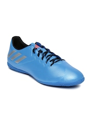 Adidas Men Blue Textured Messi 16.4 Football Shoes