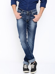 SPYKAR Men Blue Skinny Fit Low-Rise Jeans