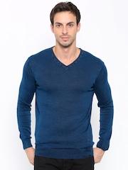 SPYKAR Men Blue Sweater