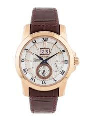 SEIKO Premier Men Silver-Toned Dial Watch SNP096P1