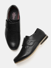 Roadster Men Black Monk Shoes