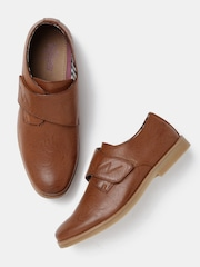 Roadster Men Tan Brown Monk Shoes