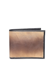 John Players Men Brown Genuine Leather Wallet