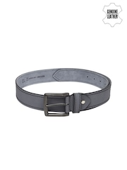 Roadster Men Grey Genuine Leather Belt