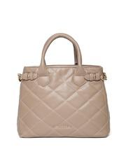 Lisa Haydon for Lino Perros Brown Quilted Handbag