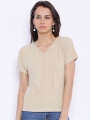 109F Women Beige Top