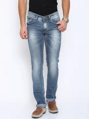 SPYKAR Men Blue Skinny Fit Low Rise Clean Look Jeans