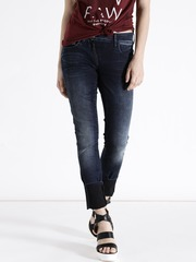 G-STAR RAW Women Navy Skinny Clean Look Jeans