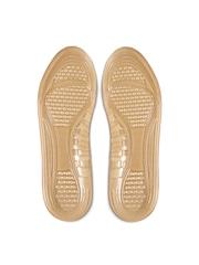 Helios Men Beige Textured Gel Insoles for Flat Foot
