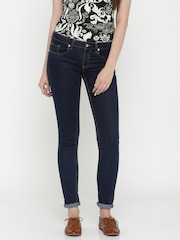 Allen Solly Woman Blue Slim Fit Jeans