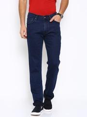 Pepe Jeans Men Blue Regular Fit Low Rise Clean Look Jeans