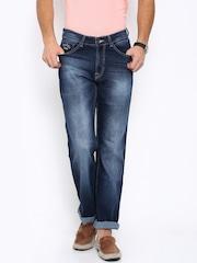 Pepe Jeans Men Blue Kingston Fit Mid-Rise Jeans