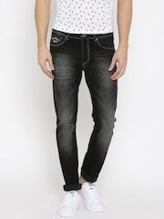 Pepe Jeans Men Black Soho Fit Jeans