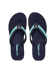 Sole Threads Women Blue Flip-Flops