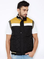 British Club Black & Yellow Quilted Jacket