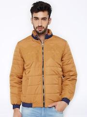 British Club Brown Quilted Jacket