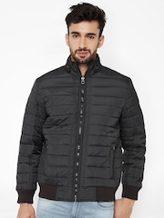 British Club Charcoal Grey Quilted Jacket