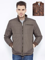 British Club Brown Quilted Reversible Jacket