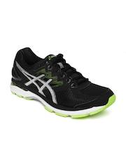 ASICS Men Black GT-2000 4 Running Shoes